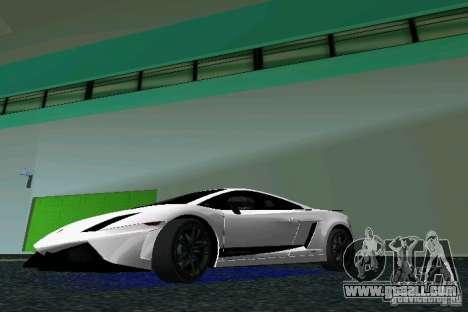 Lamborghini Gallardo LP570 SuperLeggera for GTA Vice City left view
