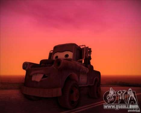 Car Mater for GTA San Andreas
