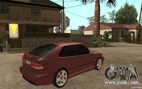 Saab 9-3 Aero 1999 for GTA San Andreas