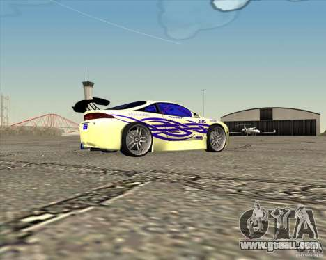 Mitsubishi Eclipse street tuning for GTA San Andreas left view