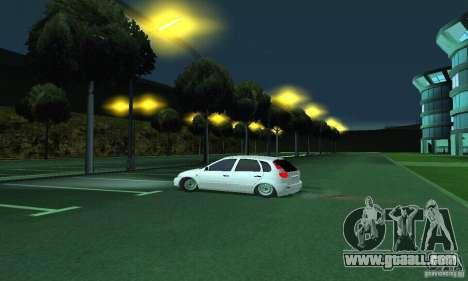 Lada Kalina Hatchback for GTA San Andreas right view
