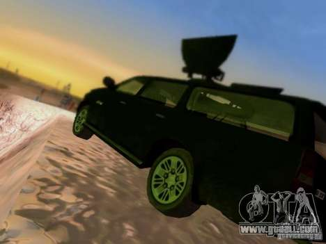 Suv Call Of Duty Modern Warfare 3 for GTA San Andreas bottom view