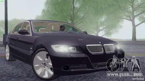 BMW 330i e90 for GTA San Andreas
