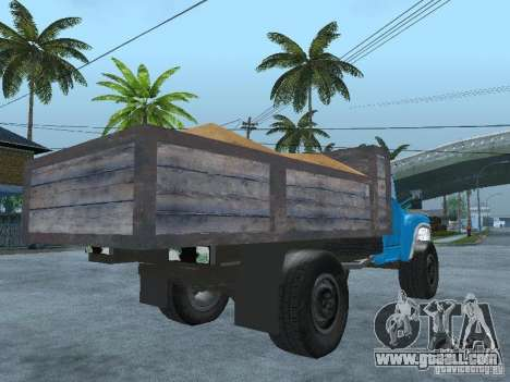 ZIL 130 garbage truck for GTA San Andreas back left view