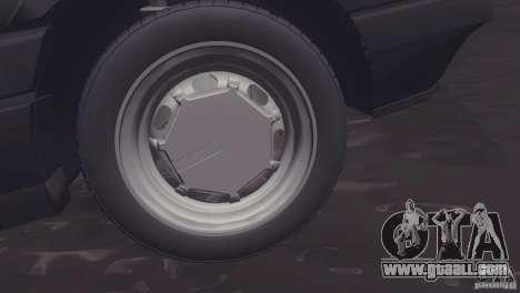 Volkswagen Passat B3 v2 for GTA San Andreas back left view