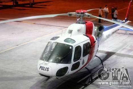 Eurocopter AS350 Ecureuil (Squirrel) Malaysia for GTA 4