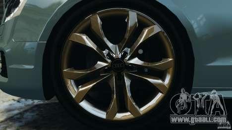Audi S5 v1.0 for GTA 4 interior