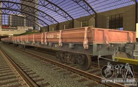 Flatcar 44424539 for GTA San Andreas