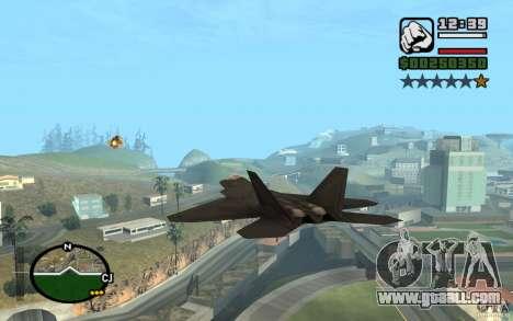 Hydra, Panzer mod for GTA San Andreas forth screenshot