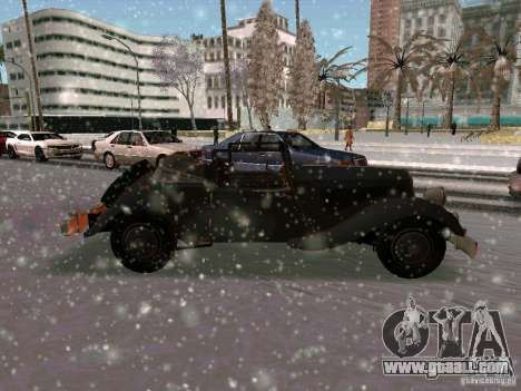 Auto game Sabotage for GTA San Andreas right view