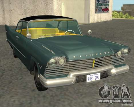 Plymouth Savoy 1957 for GTA San Andreas