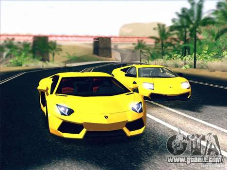 Lamborghini Aventador LP700-4 2011 V1.0 for GTA San Andreas wheels