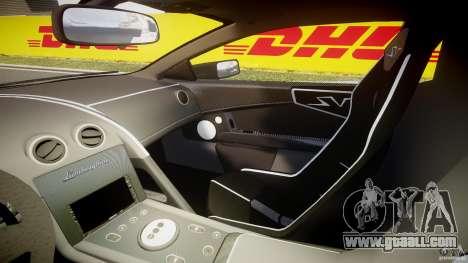 Lamborghini Murcielago LP670-4 SuperVeloce for GTA 4 inner view