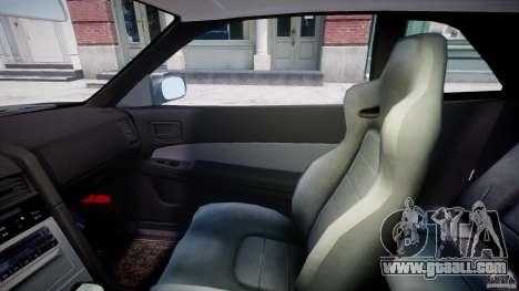 Nissan Skyline GT-R 34 V-Spec for GTA 4 inner view