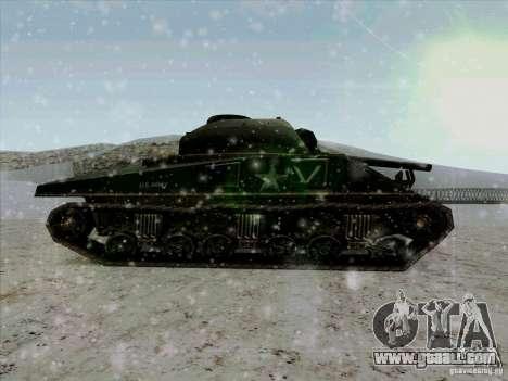 Sherman for GTA San Andreas left view