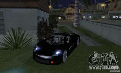 Xenon Lights (Xenon Headlights) for GTA San Andreas forth screenshot