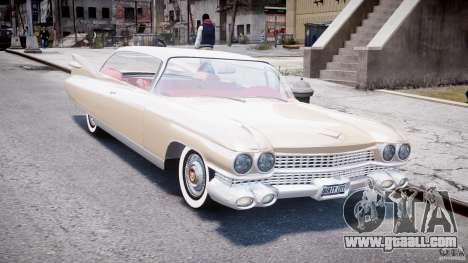 Cadillac Eldorado 1959 (Lowered) for GTA 4 back view