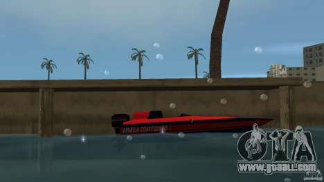 San Andreas Coast Guard for GTA Vice City left view