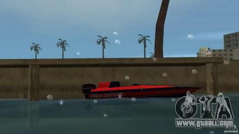 San Andreas Coast Guard for GTA Vice City left view