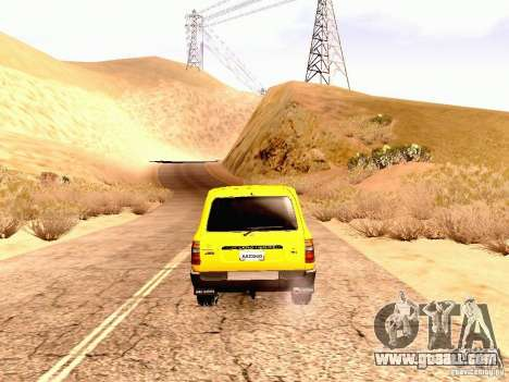 Toyota Land Cruiser 80 Off Road Rims for GTA San Andreas right view