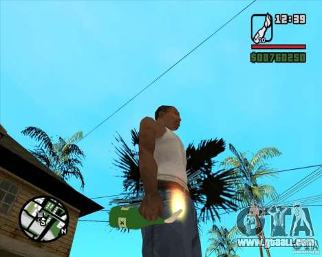 RiCkys Molotov Cocktail for GTA San Andreas second screenshot