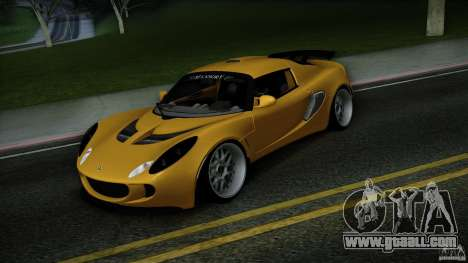 Lotus Exige Track Car for GTA San Andreas back view