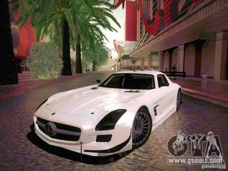 Mercedes-Benz SLS AMG GT-R for GTA San Andreas