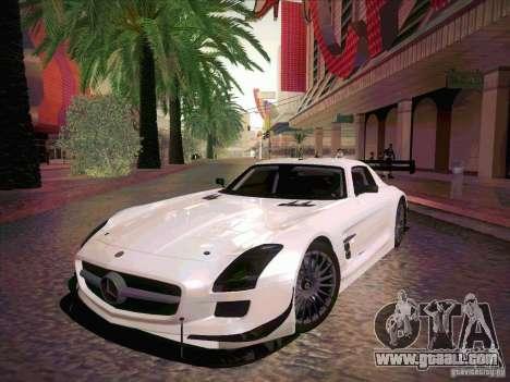 Mercedes-Benz SLS AMG GT-R for GTA San Andreas