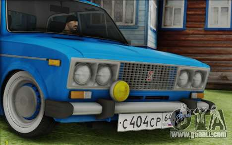 VAZ 2106 Retro for GTA San Andreas right view