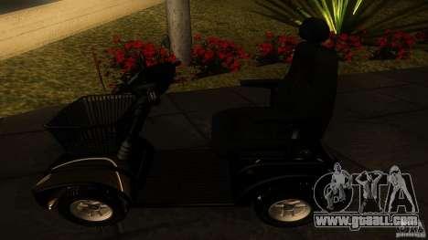 Elektroscooter - Speedy for GTA San Andreas right view