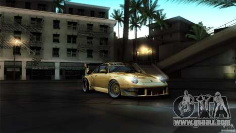 Porsche 993 RWB for GTA San Andreas side view