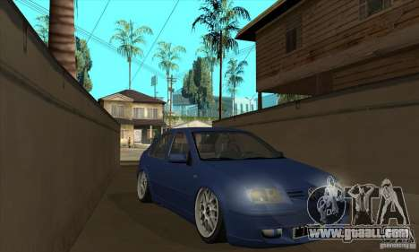 VW Bora VR6 Street Style for GTA San Andreas back view