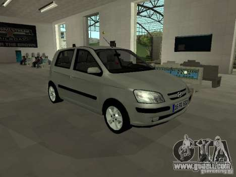 Hyundai Getz for GTA San Andreas