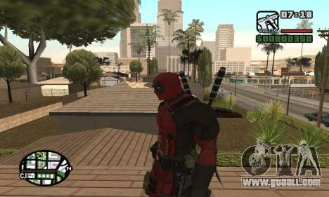 Dead Pool for GTA San Andreas forth screenshot