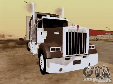 Kenworth W900 Long for GTA San Andreas left view