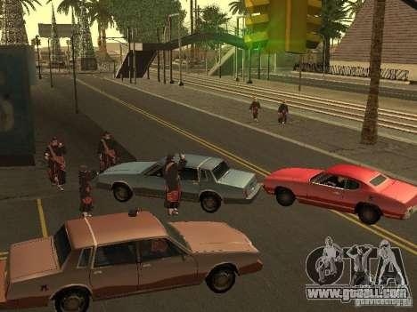 The Akatsuki gang for GTA San Andreas second screenshot