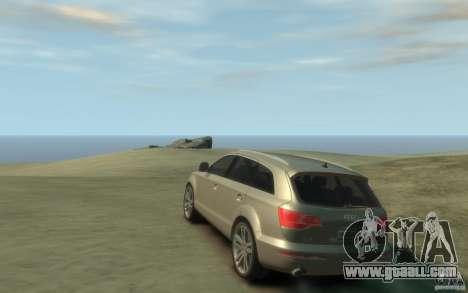 Audi Q7 for GTA 4 back left view