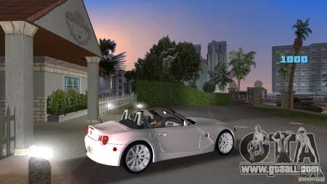 BMW Z4 2004 for GTA Vice City right view