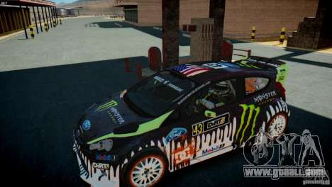 Ken Block Gymkhana 5 Clothes (Unofficial DC) for GTA 4 forth screenshot