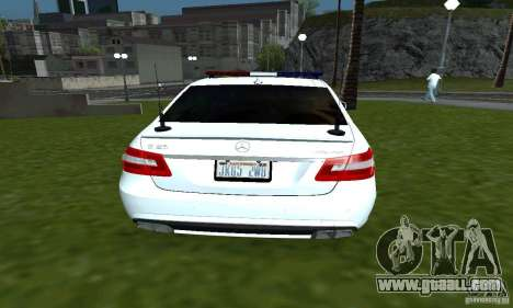 Mercedes-Benz E63 DPS for GTA San Andreas back left view