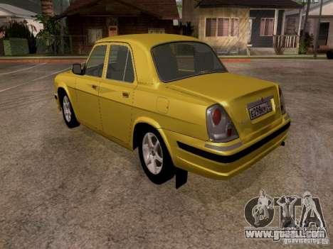 GAZ Volga 31107 for GTA San Andreas right view