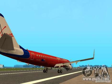 Embraer ERJ 190 Virgin Blue for GTA San Andreas right view