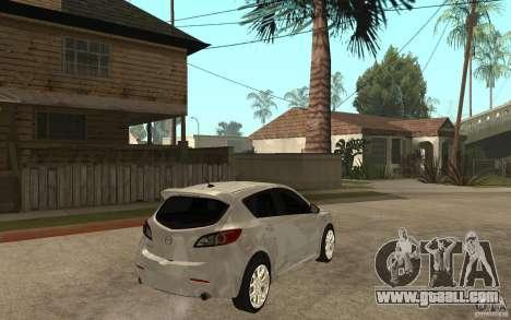 Mazda 3 Mazdaspeed 2010 for GTA San Andreas