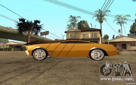 MGC Phantom for GTA San Andreas left view