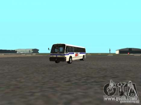 GMC RTS MTA New York City Bus for GTA San Andreas left view