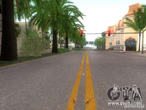 Modification Of The Road for GTA San Andreas fifth screenshot