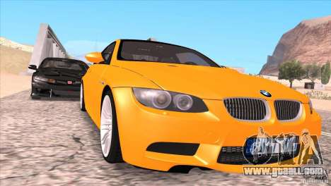 BMW M3 E92 for GTA San Andreas wheels