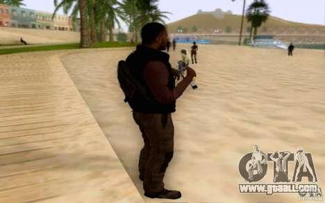 Salazar in the civil for GTA San Andreas second screenshot