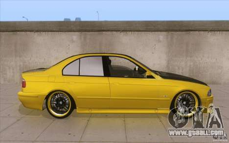 BMW M5 E39 - FnF4 for GTA San Andreas inner view