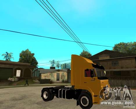 KAMAZ 5460M TAI version 1.5 for GTA San Andreas right view